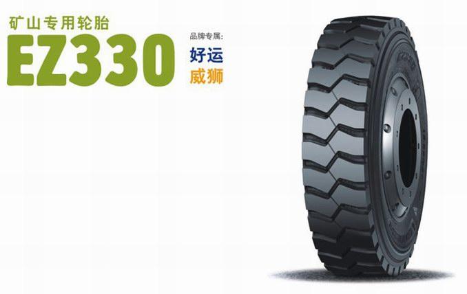 短途矿山用轮胎,独特的大块花纹和深沟设计具有优异
